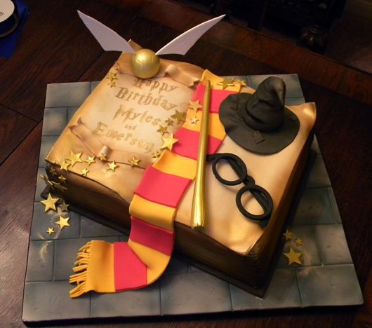 Tartas infantiles originales. Harry Potter